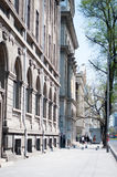 Bucharest downtown walkway Stock Photography