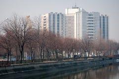 Bucharest emergency university hospital Stock Photography