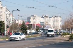 Bucharest Eroii Revolutiei square Stock Images