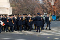 Bucharest fanfare Stock Image