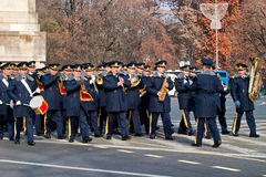 Bucharest fanfare Stock Photo