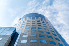 Bucharest Financial Plaza Building Stock Images