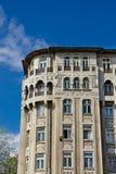Bucharest gamla byggnader Royaltyfri Fotografi