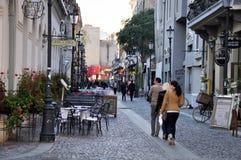 Bucharest gammal stad Royaltyfri Foto