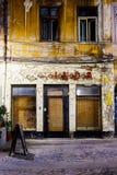 Bucharest gammal stadmitt för återställande Royaltyfria Foton