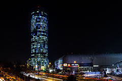 Bucharest himmeltorn royaltyfri foto