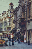 Bucharest historisk mitt Arkivfoton