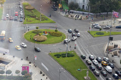 Bucharest - Hochschulquadrat Lizenzfreies Stockfoto