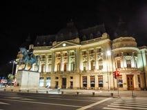 Bucharest huvudstaden av Rumänien royaltyfria bilder