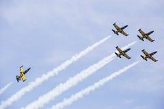 Bucharest Internaţional Airshow 2015 Royalty Free Stock Photo