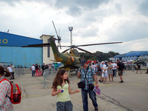 Bucharest International Air Show ‎2015 (BIAS 2015) Royalty Free Stock Photography
