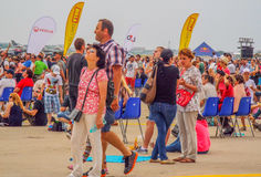 bucharest international air show 2016 ,civil and military air show from Bucharest, Romania Stock Photography