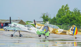 bucharest international air show 2016 ,civil and military air show from Bucharest, Romania Royalty Free Stock Photography