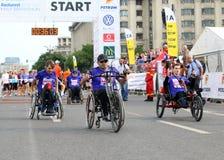 Bucharest International Half Marathon 2015 Stock Photo