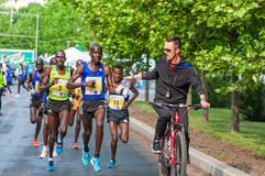 Bucharest International Half Marathon 2015 Royalty Free Stock Images