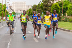 Bucharest International Half Marathon 2015 Royalty Free Stock Image