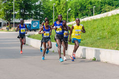 Bucharest International Half Marathon 2015 Royalty Free Stock Photos