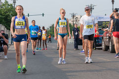 Bucharest International Half Marathon 2015 Stock Image