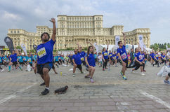 Bucharest International Half Marathon Stock Photography