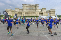 Bucharest International Half Marathon Stock Photo
