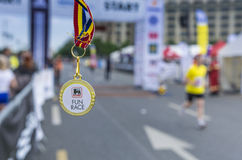 Bucharest International Half Marathon Royalty Free Stock Photo