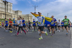 Bucharest International Half Marathon Royalty Free Stock Photography