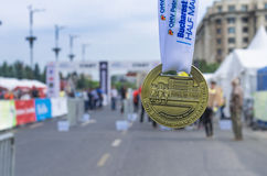 Bucharest International Half Marathon Royalty Free Stock Images