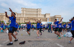 Bucharest International Half Marathon 2015 Royalty Free Stock Photography