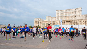 Bucharest International Half Marathon 2015 Stock Photography