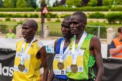 Bucharest International Half Marathon 2015 Royalty Free Stock Images
