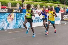 Bucharest International Half Marathon 2015 Stock Images