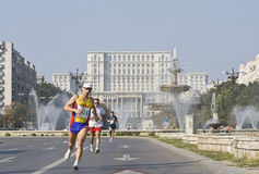 Bucharest international marathon Stock Image