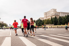 2015 Bucharest International Marathon Stock Image