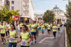 2015 Bucharest International Marathon Stock Photos