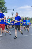 Bucharest internationell halv maraton Arkivfoto