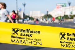 Bucharest internationell maraton 2015 Royaltyfria Bilder
