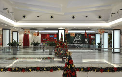 Bucharest,January 05-Christmas decorations stock photography
