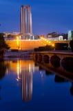 Bucharest - Kolędowy Park Fotografia Stock