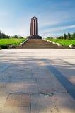Bucharest - kommunistisk Mausoleum Royaltyfri Foto