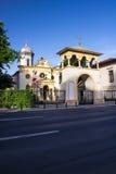bucharest kyrka Royaltyfri Foto