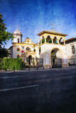 bucharest kyrka Fotografering för Bildbyråer