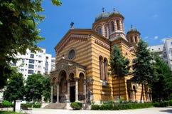 Bucharest - kyrka av uppstigningen fotografering för bildbyråer