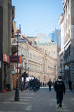 Bucharest lipscani street Stock Photo