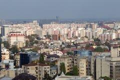 Bucharest - Luftaufnahme Stockfotografie