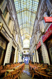Bucharest - Macca-Vilacrosse glass covered street Royalty Free Stock Photos