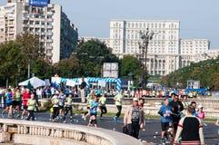 Bucharest marathon Royalty Free Stock Photos