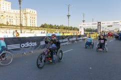 Bucharest Międzynarodowy maraton 2014 obrazy stock