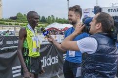 Bucharest Międzynarodowy Przyrodni maraton obraz stock