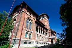 Bucharest - museum av den rumänska bonden Arkivfoton