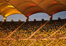 Free Bucharest National Arena Stadium, Detail Stock Images - 130914024